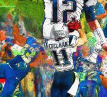 New England Patriots Win Super Bowl XLIX  Sticker