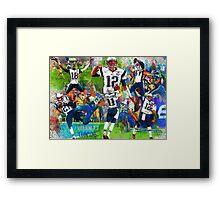 New England Patriots Win Super Bowl XLIX  Framed Print