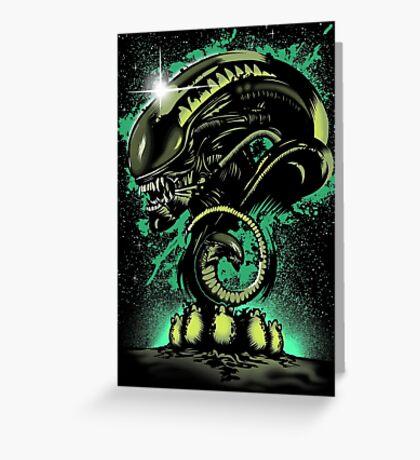 Alien Universe Greeting Card