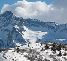 Landscape- Winter San Juan Range, Dallas Divide by Anne LaSala