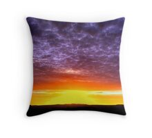 Sunrise over Rough Tor Throw Pillow