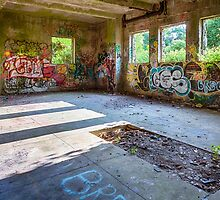 Brenton Point Stables Abandoned 4 by Joshua McDonough Photography