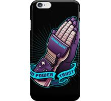 IN POWER WE TRUST iPhone Case/Skin
