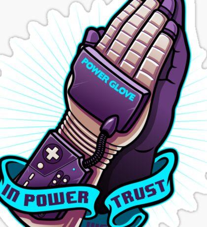 IN POWER WE TRUST Sticker