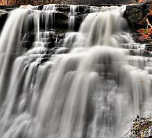 Brandywine Falls - Portion by SSaA
