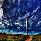 Wind power by Larrikin  Photography