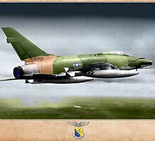 F-100D Super Sabre - Vietnam by A. Hermann