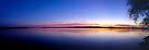 Sunset, Lake Champlain - Panorama by Stephen Beattie