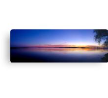 Sunset, Lake Champlain - Panorama Canvas Print