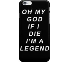 Legend [White] iPhone Case/Skin