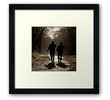 trusted companions Framed Print