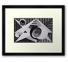 Embryonic Moons Framed Print