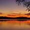 Sunset, Lake Champlain by Stephen Beattie