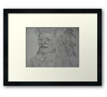Commanche Chieftain Framed Print