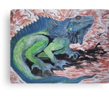 Dragon- the Lizardy Kind Canvas Print