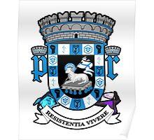 Puerto Rico Coat of Arms Ingress Resistance Version Poster