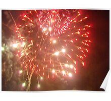 fireworks blast Poster