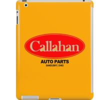 Callahan Auto Parts Funny Geek Nerd iPad Case/Skin