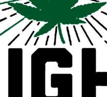 Lets Get High ... Grades [Black] Sticker