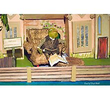 Wind in the Willows - Toad of Toad Hall Photographic Print