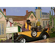 Wind in the Willows - Toad's New Car Photographic Print