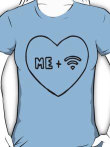 Me + Wifi [Black] T-Shirt