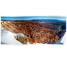 Inspiration Point - Winter - Panorama Poster
