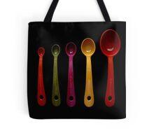 Five Measuring Spoons Tote Bag