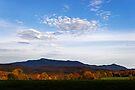 Mount Mansfield Silhouette by Stephen Beattie