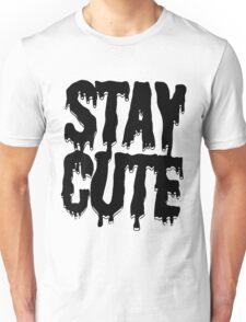 Stay Cute [Black] Unisex T-Shirt
