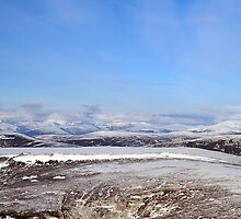 Cairngorm Panorama from Carn an Tuirc above Glenshee by photobymdavey