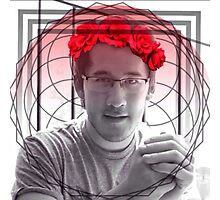 Red Markiplier  Photographic Print