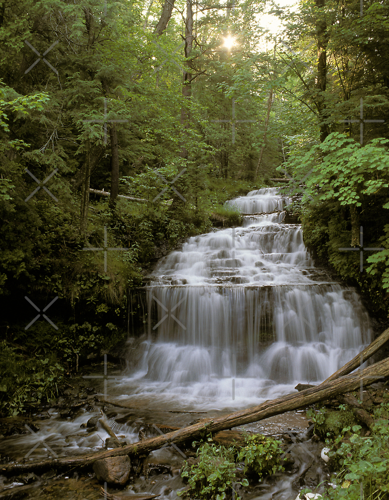 Wagner Falls by Bill Spengler