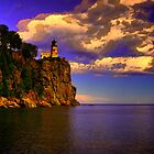 Split Rock Lighthouse by Trenton Purdy