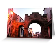 The North Gate - Carrickfergus Greeting Card