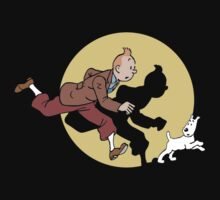 tin tin james snowy by Likedy