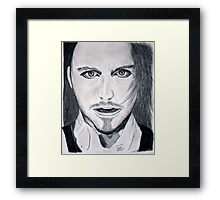 Tim Minchin Pencil Drawing Framed Print