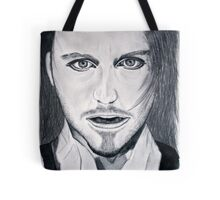 Tim Minchin Pencil Drawing Tote Bag
