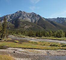 Kananskis River by ldredge