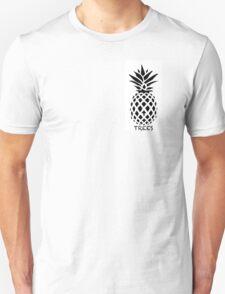Reddit /R/Trees Pineapple black & white T-Shirt