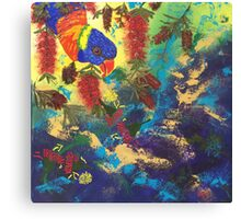 Feast of Red Canvas Print