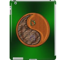 Taurus & Rooster Yin Wood iPad Case/Skin