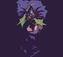 Rogue (Valeera) Posterized by CuriousMC