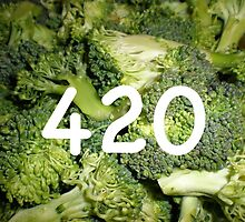 420 Broccoli by AdamShortman