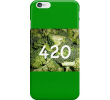 420 Broccoli iPhone Case/Skin