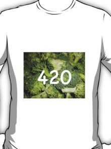 420 Broccoli T-Shirt