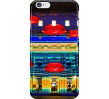 Hot Lips - Customs House - Sydney Vivid Festival - Australia iPhone Case/Skin