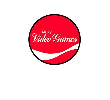 Enjoy Video Games Photographic Print