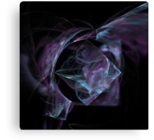 Raw Blue Diamond Crystal In Matrix Canvas Print