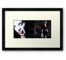 Vampire hunter Framed Print